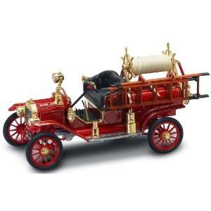 Yat Ming Scale 118   1914 Ford Model T Fire Engine Toys