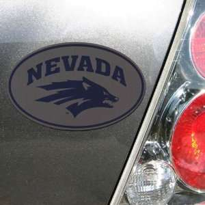 NCAA Nevada Wolf Pack Oval Magnet