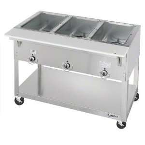 Duke Manufacturing EP303 Hot Food Table 3 Well 44 3/8