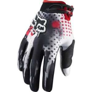 2011 Fox Racing 360 Riot Gloves   Black / Red   12 (XX
