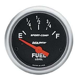 Auto Meter 3316 Sport Comp 2 1/16 Short Sweep Electric