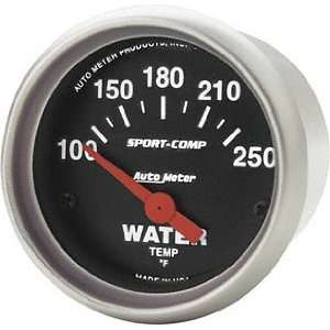 Auto Meter 3337 Sport Compact Short Sweep Electric Water Temperature