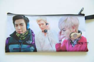 TOP T.O.P ~BIG BANG Zipper Pen Pencil Case Bag Pouch B5