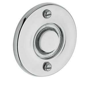 Baldwin 4851.260 Polished Chrome Round Bell Button