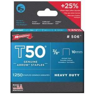 New   ARROW FASTENERS 50624 T50 STAPLES