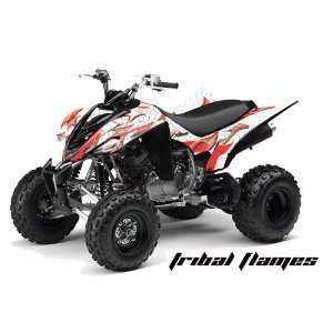AMR Racing Yamaha Raptor 350 ATV Quad Graphic Kit   Tribal