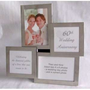 Anniversary Collage Frame   60th Wedding Anniversary Gift Home