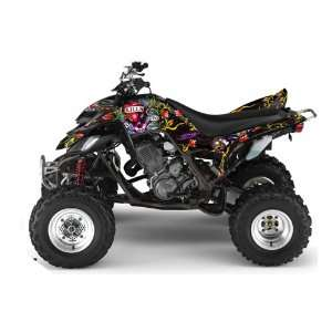 Ed Hardy AMR Racing Yamaha Raptor 660 ATV Quad Graphic Kit