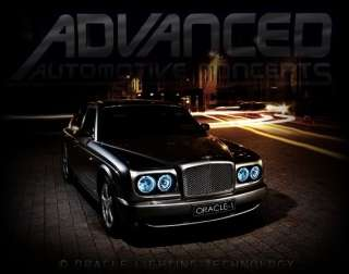 Bentley Arnage ORACLE Headlight HALOs Angel/Demon Eyes