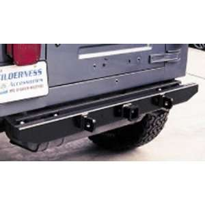 Bumper 1987 2006 Jeep Wrangler/Unlimited; rear