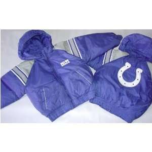 NFL Indianapolis Colts Kids Hooded Jackets Sports