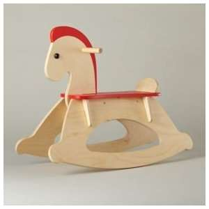 Baby Toys Wooden Rocking Horse, Rocking Horse Toys & Games