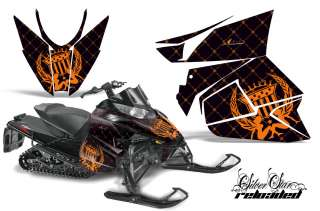 GRAPHIC DECALS WRAP KIT ARCTIC CAT PROCROSS SNOWMOBILE SLED 2012 SSRO