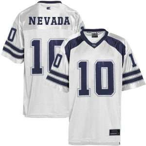 Nevada Wolf Pack #10 Youth White Game Day Football Jersey