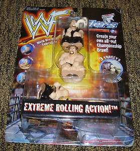 WWF WRESTLING ROLLING SLIDERS Hasbro Toy Figure WWE Big Show Road Dog