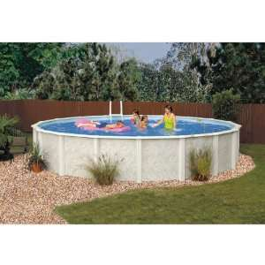 GSM Crystal River Above Ground Round Pool Package Sports
