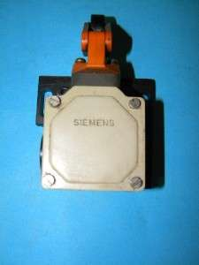 Siemens 3SE31001E Limit Switch with Roller Lever