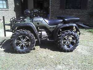 26 HONDA RUBICON MUD TRAX ATV TIRE & WHEEL KIT