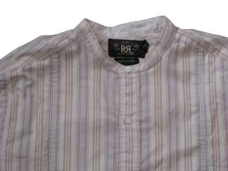 250 NWT DOUBLE RALPH LAUREN RRL MENS VINTAGE TAOS BUTTON LONG SLEEVE