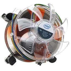 Core/Aluminum Heat Sink & 4 Fan w/4 Pin Connector up to Core i7