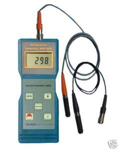 Ultrasonic Paint Coating Thickness Meter Gauge F+NF