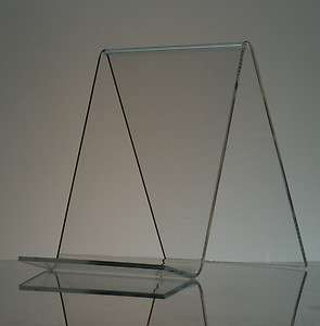 10 pack) 6 Acrylic Book Easel/Artwork Display Stands
