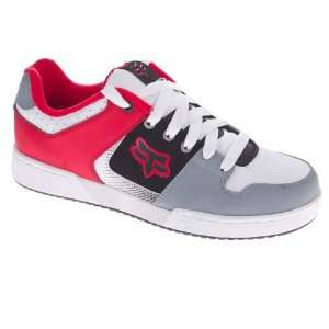 Fox Racing Quadrant Shoe White/Red 10.5