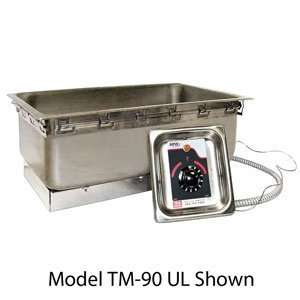 208 Volts APW Wyott TM 90 UL High Performance Uninsulated One Pan Drop