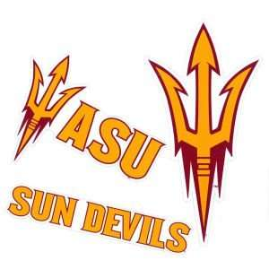 Arizona State Sun Devils Moveable 12x12 Decal Multipack Sports