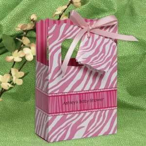 Baby Zebra   Classic Personalized Baby Shower Favor Boxes Toys