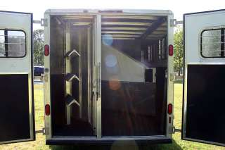 Trailer 2001 Kiefer Built Genesis X 3 3 Horse Slant Trailer