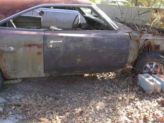 Original MoPar 1969 70 Dodge Charger Right Door Shell