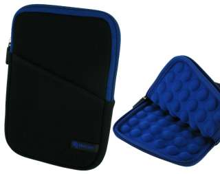 rooCASE Super Bubble Neoprene Sleeve for B&N Nook Color