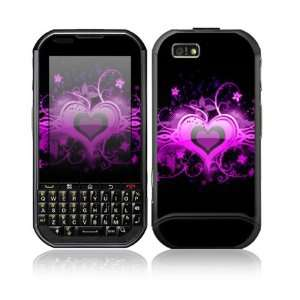 Glowing Love Heart Design Protective Skin Decal Sticker for Motorola