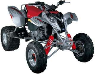 RED Shock Covers POLARIS Predator 500 Phoenix 200 Racing ATV