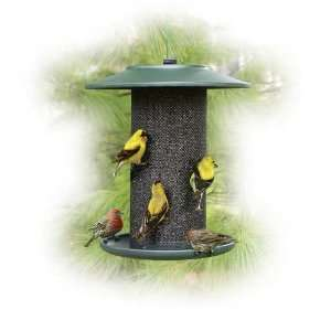 Green Steel Magnum Thistle Bird Feeder