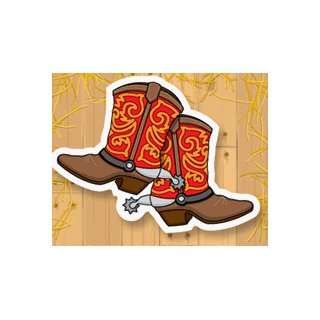 Childrens Birthday Party Invitations   Barn Dance Boots