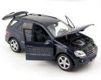 New Mercedes Benz ML350 118 Alloy Diecast Model Car with box blue