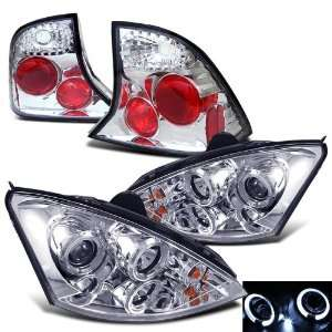 Eautolight 00 04 Ford Focus 4 Door Projector Head Lights+tail Lights