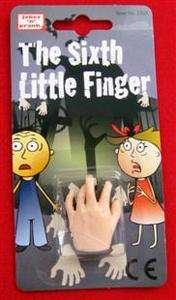 NEW ITEM SIXTH LITTLE FINGER GAG MAGIC TRICK VERY SPOOKY A MUST SEE