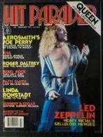HIT PARADER Magazine #151 Feb. 1977 Led Zeppelin Patti Smith Kiss