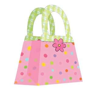 Lets Party By Creative Converting Polka Dot Treat Bags (4
