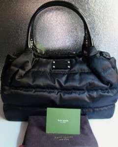 NWT KATE SPADE ALPINE HILLS STEVIE PURSE BAG BLACK