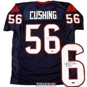 Cushing Autographed Houston Texans Custom Jersey