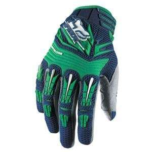 Fox Racing Pawtector Gloves   Large/Navy Automotive