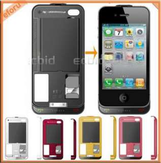 Dual SIM Card 2 Standby GSM GPRS Backup Battery Case Cover F Phone