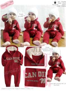 Made in Korea Candide Napping Baby Boy Girl Infant Warm Clothing / OA