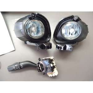 RX 8 Genuine OEM Fog Lights Blue Lamps with Switch  US Specs FE03V7220
