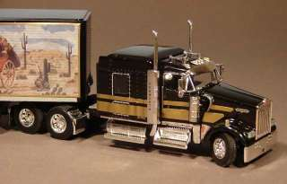 Custom Smokey and the Bandit DCP Kenworth Semi Truck 1/64