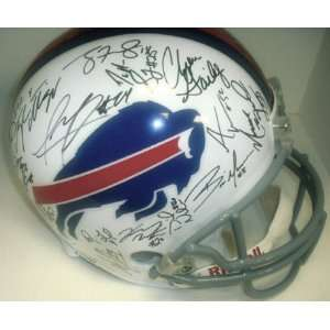 Buffalo Bills 2011 Team Hand Signed Autographed Football